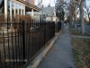 Ancona Job Shop, Ornamental Iron Fence