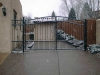 Ancona Job Shop, Ornamental Iron Gate