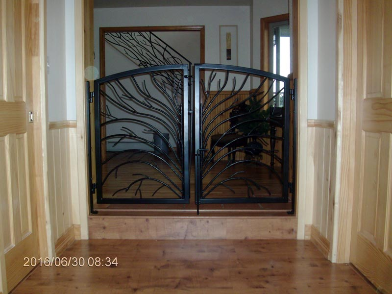 Gate, Custom Ironwork, Ancona Job Shop, ColoradoIM9678